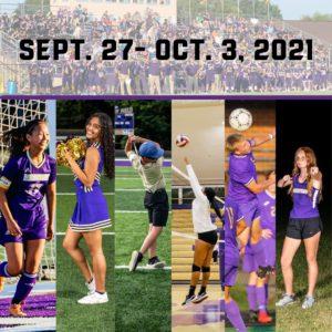 Sept. 27 - Oct. 3, 2021